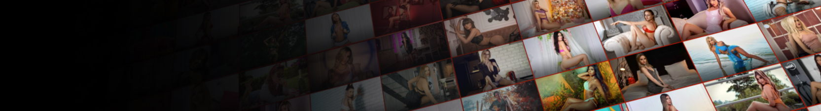 Banner promoting live sex shows
