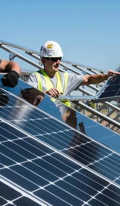 Instalação e manutenção Painel Solar