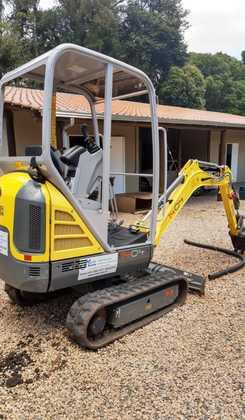 Locação para obras Mini Escavadeira
