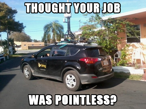 Thought Your Job Was Pointless?