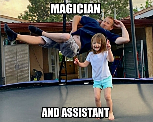 MAGICIAN AND ASSISTANT