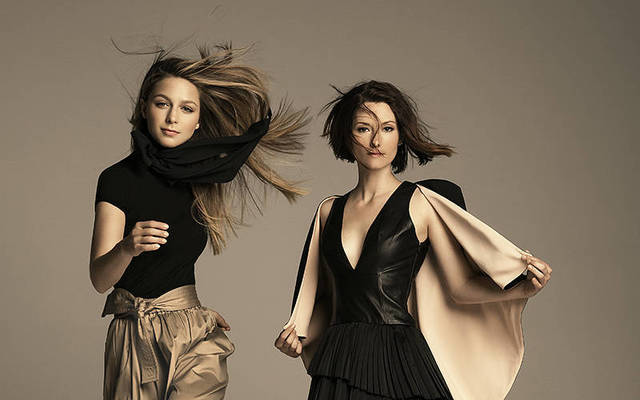 Melissa Benoiste and Chyler Lee - Emmy Magazine