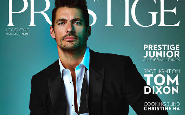 David Gandy - Prestige Magazine