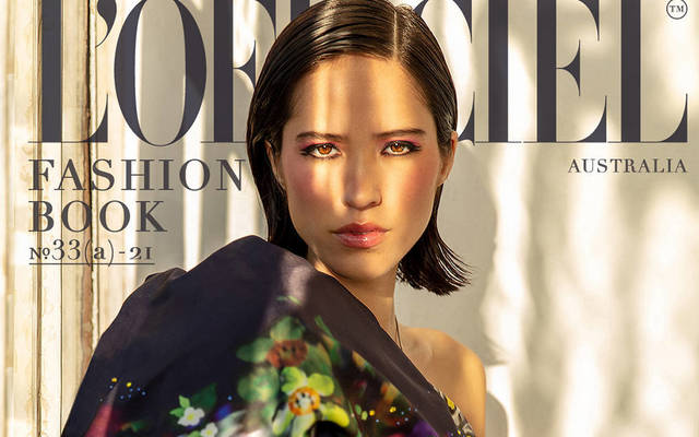Kelsey Asbille - L'Officiel Fashion Book Australia