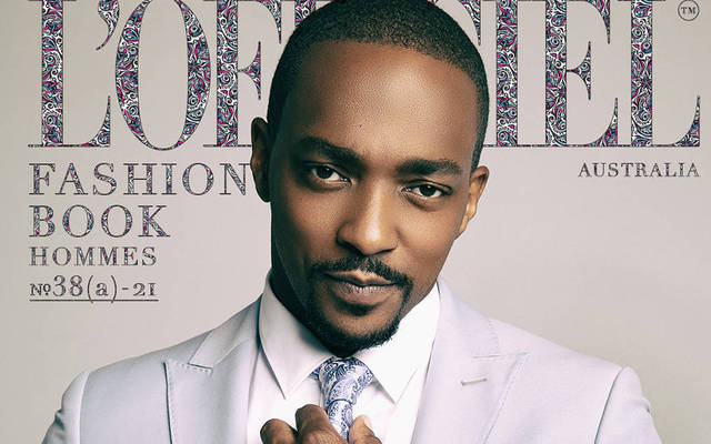 Anthony Mackie - L'Officiel Fashion Book Australia