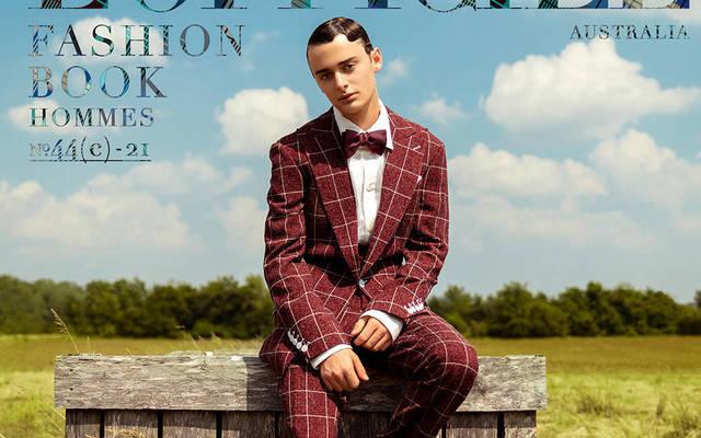 Noah Schnapp - L'Officiel Fashion Book Australia Hommes