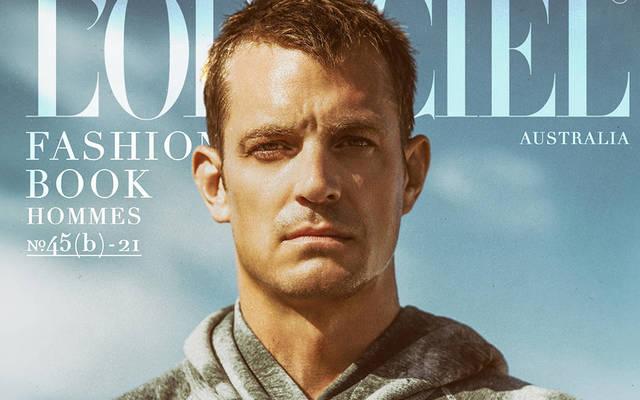 Joel Kinnaman- L'Officiel Fashion Book Australia Hommes