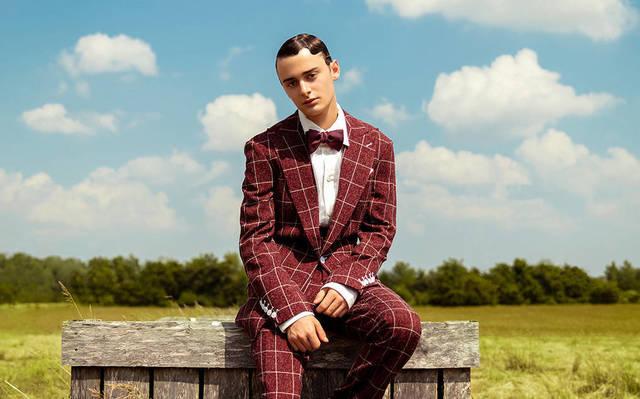Noah Schnapp -  L'Officiel Fashion Book Australia