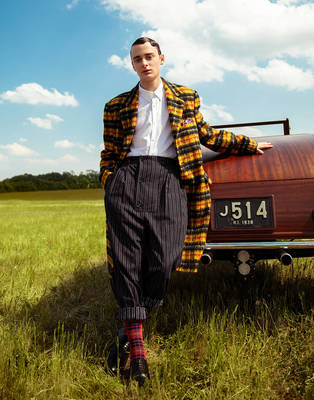 Noah Schnapp -  L'Officiel Fashion Book Monte Carlo