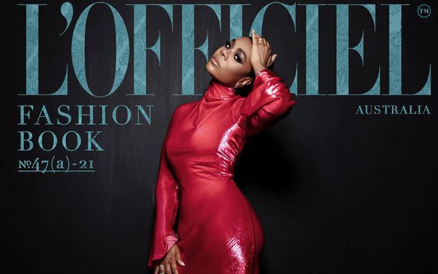 Regina Hall - L'Officiel Fashion Book Australia