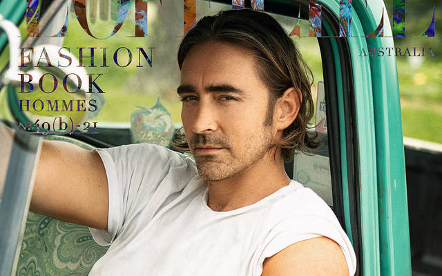 Lee Pace - L'Officiel Fashion Book Australia