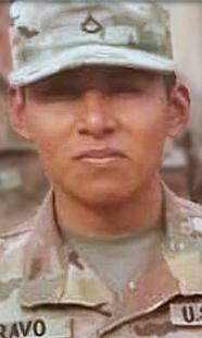 Army Spc. Nick  Bravo-Regules