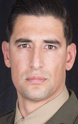 Marine Corps Gunnery Sgt. Diego D. Pongo
