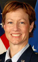 Air Force Maj. Phyllis J. Pelky