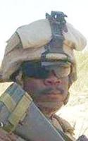 Marine Lance Cpl. Abraham  Tarwoe