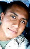 Marine Cpl. Alex  Martinez