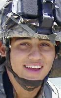 Army Pfc. Alex  Oceguera