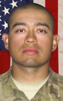 Army 1st Lt. Andres  Zermeno