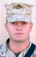 Marine Lance Cpl. Anthony C. Melia