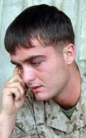 Marine Lance Cpl. David R. Baker