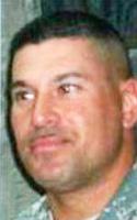Army 1st Sgt. Bobby  Mendez