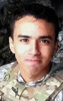 Army Spc. Brenden N. Salazar