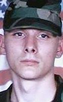Army Pfc. Brian J. Bradbury