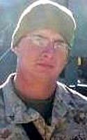 Marine Lance Cpl. Dennis J. Burrow
