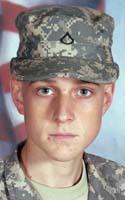 Army Pfc. Cameron J. Stambaugh