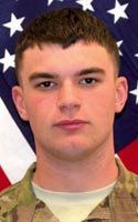Army Spc. Christian J. Chandler