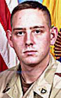 Army Spc. Christopher W. Dickison