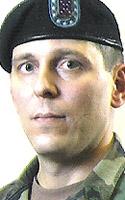 Army Sgt. 1st Class Daniel A. Brozovich