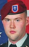 Army Spc. Daniel F. Mehringer