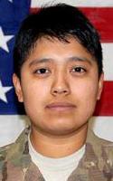 Army Spc. Daniela  Rojas