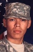Army Pfc. George  Delgado
