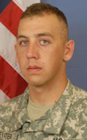 Army Pfc. Richard A. Dewater