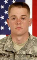 Army Spc. Robert  Donevski