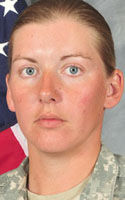 Army Sgt. Donna R. Johnson