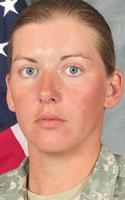 Army Sgt. Donna R. Johnson