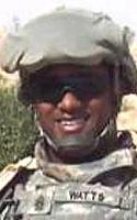 Army Command Sgt. Maj. Donovan E. Watts