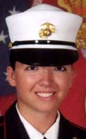Marine Lance Cpl. Stacy A. Dryden