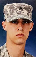 Army Pfc. Eric D. Soufrine