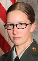 Army Spc. Erica P. Alecksen
