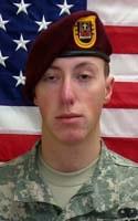 Army Pfc. Aaron E. Fairbairn