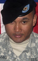 Army Staff Sgt. Jerome  Firtamag