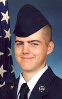 Air Force Airman 1st Class Austin Gates Benson
