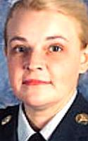 Army Staff Sgt. Gina R. Sparks