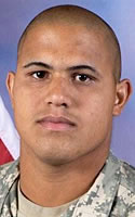 Army Pfc. Ethan L. Goncalo