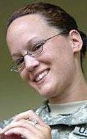 Army Chief Warrant Officer 2 Billie Jean Grinder