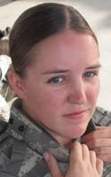 Army Sgt. Faith R. Hinkley